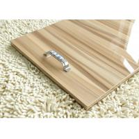 Wood Grain 18mm Gray Plain MDF Melamine Board Sheets For Interior Decoration Manufactures