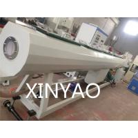 PE HDPE water hose pipe Making Machine / extruder production line Manufactures
