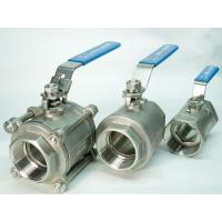 Femake & Female End Floating Ball Valve 2 Pollici Dn15 - Dn100 With Ptfe Seat Manufactures