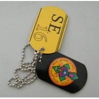 Quality aluminium dog tag with your logo for sale