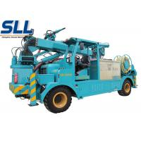 Wet mix concrete sprayer trailer robot arm electric motor and diesel two-motor drive Manufactures