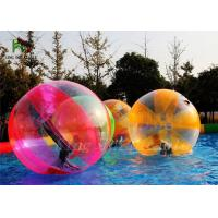 Indoor Outdoor 1.0 mm PVC / TPU Inflatable Walk On Water Ball Of 2m Diameter Manufactures