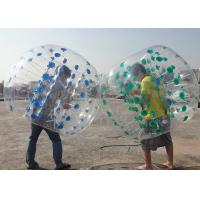 China PVC Or TPU Inflatable Bubble Soccer Balls Environmental Protection And High Stretch on sale