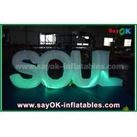 Buy cheap Giant Inflatable Letters Make To Order Company Name Logo Desgin from wholesalers