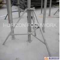Slab Concrete Forming Adjustable Construction Props , Flexible Foldable Shoring Prop Manufactures