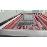 Automotive Rear Glass Toughening Furnace , Glass Tempering Furnace With Moulds Pressing Manufactures