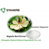 Pure Natural Magnolia Bark Extract Powder 2%-98% Honokiol and Magnolol HPLC Manufactures
