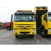 Sinotruk Howo 6x4 Type 371hp Heavy Duty Dump Truck With HW19710 Transmission And ZF Steering Manufactures