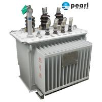 Anti - Lightning Impulse Oil Immersed Transformer 11 KV - 500 KVA Economic Manufactures
