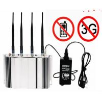 CDMA GSM Cell Phone Signal Blocker Device 1-20M Range For Auditoriums / Law Court Manufactures