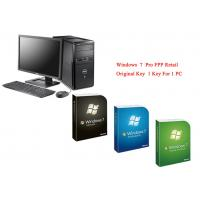 Microsoft Windows 7 Pro Pack Online Activate Customizable FQC Genuine FPP Retail Manufactures