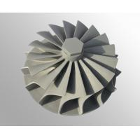vacuum investment casting High temperature nickel base alloy turbo wheel  raw casting machining Manufactures