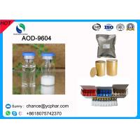 Peptide Hormones Aod 9604/ Aod-9604 Anti-Obesity Aod9604 for Weight Loss 5mg/Vial for Muscle Growthing