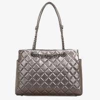 Luxury Damier Quilte Ovine Skin Silver Printed Leather Shoulder Bags Manufactures