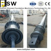 High strength Bauer Soilmec XCMG Zoomlion interlocking kelly bar Manufactures