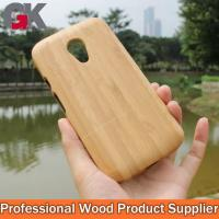 China Bamboo Cellphone Case for Motorola G2 on sale