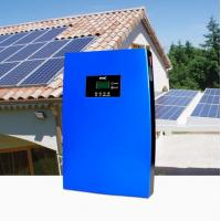 China Solar Power Off Grid Home System Energy Saving  Solar Panels 768Wh, MPPT Dual 2.0 USB-2.0A Charging Function, Blue on sale