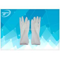 Quality Latex Surgical Gloves Powder Free Sterilized By Gamma Radiation for sale