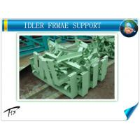 China factory supplier belt Conveyor Roller Idlers and galvanized Frame,conveyor parts for Manufactures
