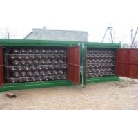20FT CNG Storage Tanks For CNG Mobile Refueling Station ISO9809 Manufactures