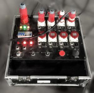 Quality Nomputer Numerical Control Aluminium Motor Chain Hoist Power Case Black / Red / for sale