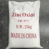 Industry Grade Zinc Oxide Powder 99.7% Cas 1314-13-2 With ROSH Certificate Manufactures