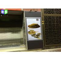 Outside Textile Light Box Display Stand UV Printing Poster 1177 MM X 1817 MM Manufactures