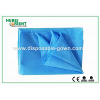 Dust Proof PP Disposable Bed Sheets , Single / Double Bed Sheets For Hotels Manufactures