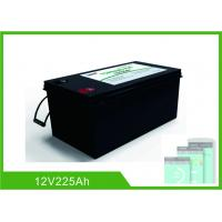 China Bluetooth 225Ah Lithium 12V Deep Cycle Battery LiFePO4 Battery Management System on sale