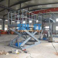 Quality Easy Operation Vehicle Scissor Lift Car Lifts For Home Garage Multi Color for sale