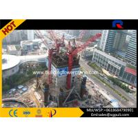 Mini Hammer Head Tower Crane Climbing Height 65M For Inside Building Manufactures