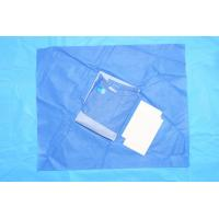 China Dustproof  Breathable SMMS Fabric Sterile Surgical Gowns Against Blood on sale