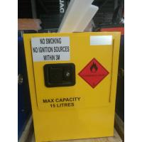 Mini Steel Flame Proof Safety Storage Cabinets With Single Door Manufactures
