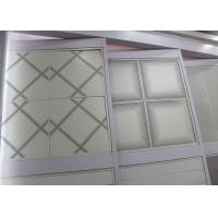 Suspended Acoustic Ceiling Tiles , Perforation Electrolytically Galvanized Sheet Steel Manufactures