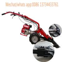China Agricultural equipment Farm Machinery mini walking tractor grass cutter/sickle bar mower on sale