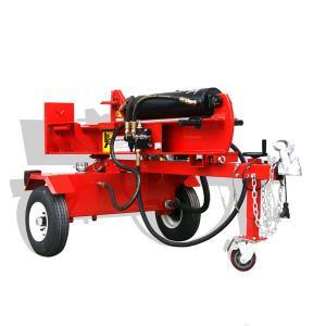 China 40T diesel log splitter wood log splitter with diesel power on sale