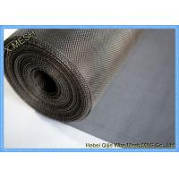 Dutch Weave 5 Micro 304 Stainless Steel Wire Mesh Cloth Filter Acid Resistant Manufactures