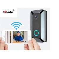 18650 Li Battery Wireless Video Doorbell System 140 Degree Wide Angle HD 720P Manufactures