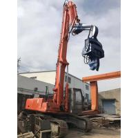 No Pollution Hydraulic Sheet Pile Driver 2700kg Hammer Weight Easy Maintenance Manufactures