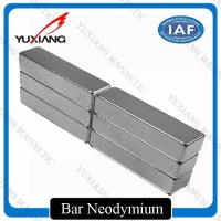 Grade N52 Neodymium Bar Magnets +/-0.05mm Tolerance ISO9001 Certificated Manufactures