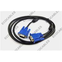 DVI VGA Male To Male Cables for Computer / Monitor / Beamer / TV Manufactures