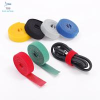 Buy cheap Anti Slip Nylon Reusable Cable Ties Injection Molded Back To Back Hook And Loop from wholesalers