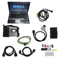 WIFI V2017.07 MB Star C5 SD Connect Compact C5 with Dell D630 Laptop for Cars and Trucks Manufactures