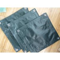 waterproof polyethylene tarpaulin used for wagon cover and gazebo tents Manufactures
