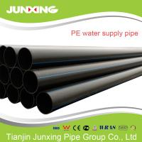 110mm PN20 SDR9 HDPE water pipe ISO4427 standard water pipe hdpe Manufactures