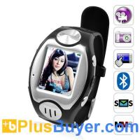 """China Thrifty - 1.5"""" Touchscreen Watch Phone (Quad Band, Bluetooth) on sale"""