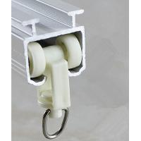 6063 Material Curtain Rail Fitting Extruded Aluminum Profiles / Curtain Track Manufactures