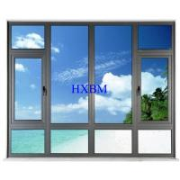 Water Proof Aluminum Casement Windows Environmental Protection Elegant Appearance Manufactures