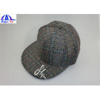 Emboridery Logo Polyester Double Layer Sports Baseball Caps for Women / Men Manufactures