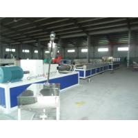 China Fully Automatic PVC Profile Production Line With Twin Screw, Plastic Profile Machine on sale